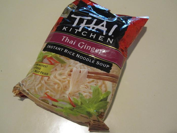 Gluten Views Thai Kitchen Thai Ginger Instant Rice Noodle Soup