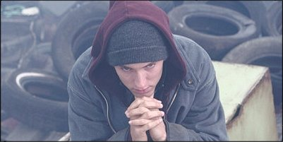8 mile - a shot from the film