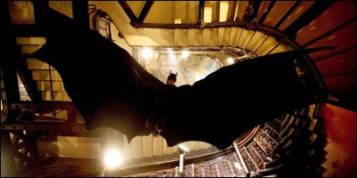 batman begins - a shot from the film
