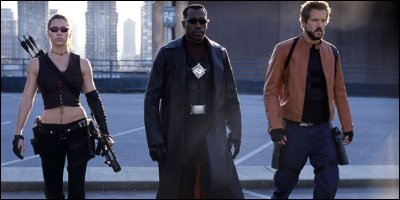 blade: trinity - a shot from the film