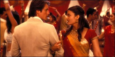 bride & prejudice - a shot from the film