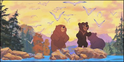 brother bear - a shot from the film