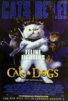 poster from cats & dogs