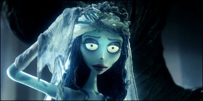 tim burton's corpse bride - a shot from the film