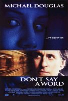 poster from don't say a word