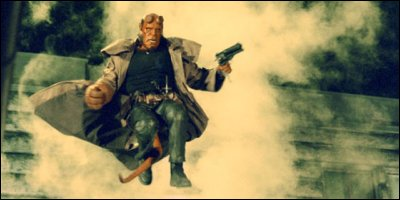 hellboy - a shot from the film