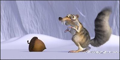 ice age - a shot from the film