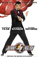 poster from johnny english