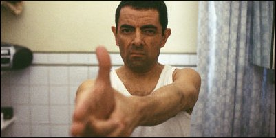 johnny english - a shot from the film