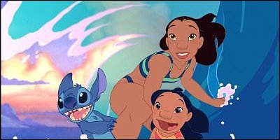 lilo & stitch - a shot from the film