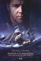poster from master and commander: the far side of the world