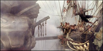 master and commander: the far side of the world - a shot from the film
