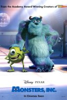 poster from monsters, inc.