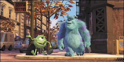 monsters, inc. - a shot from the film