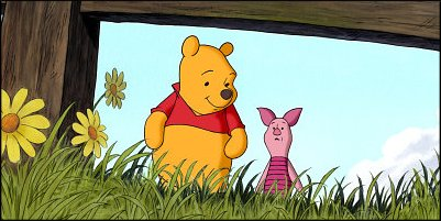 piglet's big movie - a shot from the film