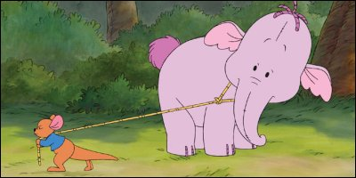 pooh's heffalump movie - a shot from the film