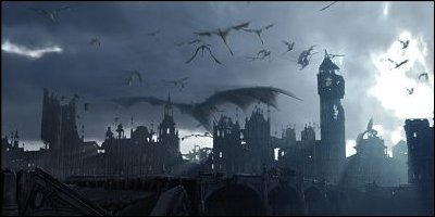 reign of fire - a shot from the film