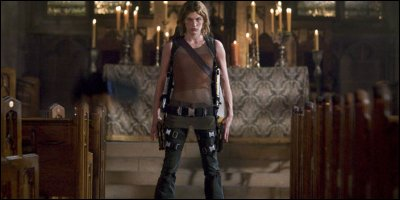 resident evil: apocalypse - a shot from the film