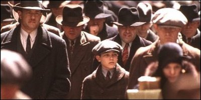 road to perdition - a shot from the film