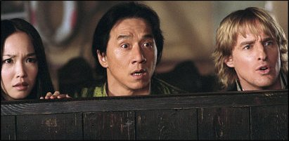 shanghai knights - a shot from the film