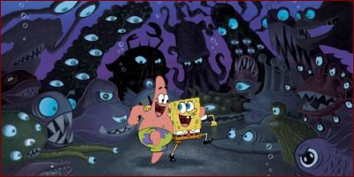the spongebob squarepants movie - a shot from the film