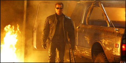 terminator 3: rise of the machines - a shot from the film
