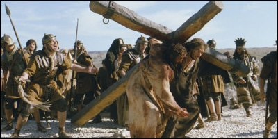 the passion of the christ - a shot from the film