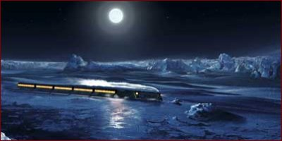 the polar express - a shot from the film