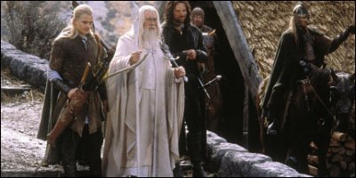 the lord of the rings: the return of the king - a shot from the film