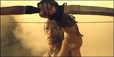 the scorpion king - a shot from the film