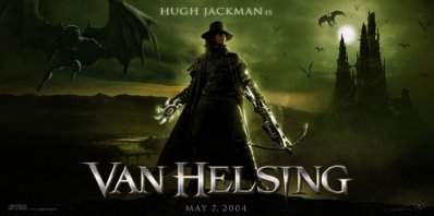 van helsing - a shot from the film